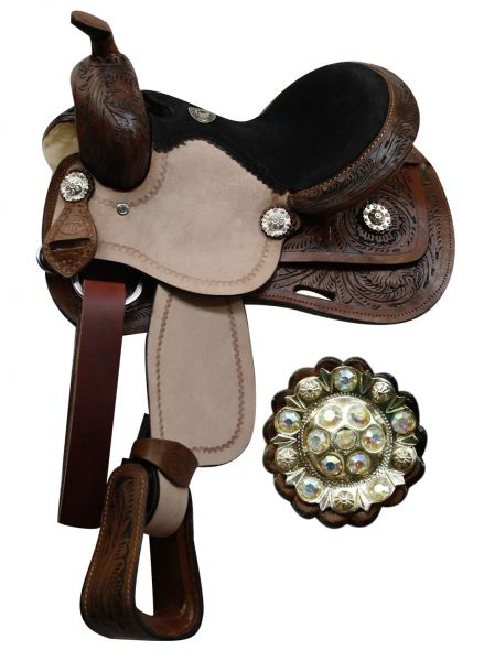 Youth Saddles - Happy Nicker Tack